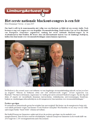 20150630 blackout congres